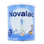 Novalac 1 Lait En Poudre 1er âge B /800g à Saint-Chef