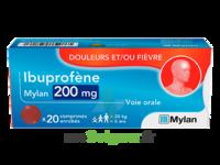Ibuprofene Mylan 200 Mg, Comprimé Enrobé à Saint-Chef