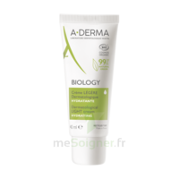 Aderma Biology Crème Légère Dermatologique Hydratante T/40ml à Saint-Chef