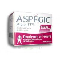 Aspegic Adultes 1000 Mg, Poudre Pour Solution Buvable En Sachet-dose 20 à Saint-Chef