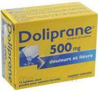 Doliprane 500 Mg Poudre Pour Solution Buvable En Sachet-dose B/12 à Saint-Chef
