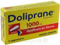 Doliprane 1000 Mg Suppositoires Adulte 2plq/4 (8) à Saint-Chef