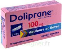 Doliprane 100 Mg Suppositoires Sécables 2plq/5 (10) à Saint-Chef