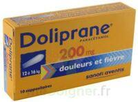 Doliprane 200 Mg Suppositoires 2plq/5 (10) à Saint-Chef