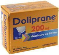 Doliprane 200 Mg Poudre Pour Solution Buvable En Sachet-dose B/12 à Saint-Chef