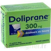 Doliprane 300 Mg Poudre Pour Solution Buvable En Sachet-dose B/12 à Saint-Chef