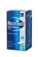 Nicotinell Menthe Fraicheur 4 Mg Sans Sucre, Gomme à Mâcher Médicamenteuse 8plq/12 à Saint-Chef