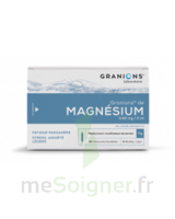 GRANIONS DE MAGNESIUM 3,82 mg/2 ml S buv 30Amp/2ml à Saint-Chef