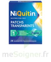 Niquitin 21 Mg/24 Heures, Dispositif Transdermique Sach/28 à Saint-Chef