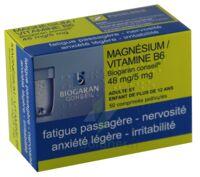 MAGNESIUM/VITAMINE B6 BIOGARAN CONSEIL 48 mg/5 mg, comprimé pelliculé à Saint-Chef