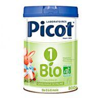 Picot Bio 1 Lait Poudre B/800g à Saint-Chef
