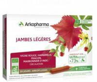Arkofluide Bio Ultraextract Solution buvable jambes légères 20 Ampoules/10ml à Saint-Chef