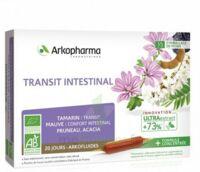 Arkofluide Bio Ultraextract Solution buvable transit intestinal 20 Ampoules/10ml à Saint-Chef