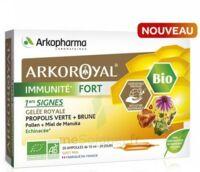 Arkoroyal Immunité Fort Solution Buvable 20 Ampoules/10ml à Saint-Chef