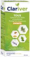 Clariver Solution Buvable Toux Sèche Et Productive Enfant Fl/175ml à Saint-Chef
