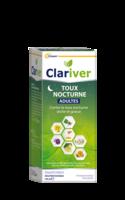 Clariver Sirop Toux Nocturne Adulte Fl/150ml à Saint-Chef