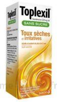 TOPLEXIL 0,33 mg/ml sans sucre solution buvable 150ml à Saint-Chef