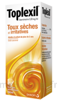 TOPLEXIL 0,33 mg/ml, sirop 150ml à Saint-Chef