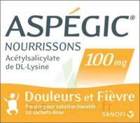 Aspegic Nourrissons 100 Mg, Poudre Pour Solution Buvable En Sachet-dose à Saint-Chef