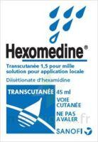 HEXOMEDINE TRANSCUTANEE 1,5 POUR MILLE, solution pour application locale à Saint-Chef