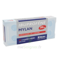 Ibuprofene Mylan 200 Mg, Comprimé Enrobé B/30 à Saint-Chef