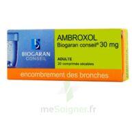 Ambroxol Biogaran Conseil 30 Mg, Comprimé Sécable à Saint-Chef