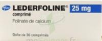 Lederfoline 25 Mg, Comprimé à Saint-Chef