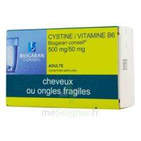CYSTINE/VITAMINE B6 BIOGARAN CONSEIL 500 mg/50 mg Cpr pell Plq/120 à Saint-Chef