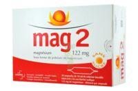 MAG 2 122 mg S buv en ampoule sans sucre édulcoré à la saccharine sodique 30Amp/10ml à Saint-Chef
