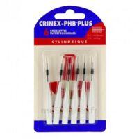 CRINEX PHB PLUS Brossette inter-dentaire cylindrique B/6 à Saint-Chef