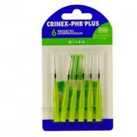 CRINEX PHB PLUS Brossette inter-dentaire micro B/6 à Saint-Chef