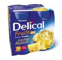 Delical Boisson Fruitee Nutriment Ananas 4bouteilles/200ml à Saint-Chef