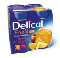 Delical Boisson Fruitee Nutriment Multi Fruits 4bouteilles/200ml à Saint-Chef