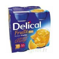 Delical Boisson Fruitee Nutriment Orange 4bouteilles/200ml à Saint-Chef