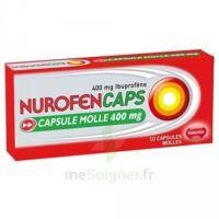 Nurofencaps 400 Mg Caps Molle Plq/10 à Saint-Chef