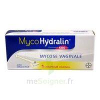MYCOHYDRALIN 500 mg, comprimé vaginal à Saint-Chef