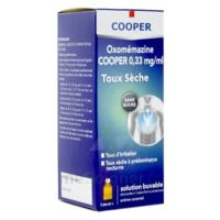 OXOMEMAZINE H3 SANTE 0,33 mg/ml SANS SUCRE, solution buvable édulcorée à l'acésulfame potassique à Saint-Chef