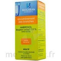 Ambroxol Biogaran Conseil 0,6 % Solution Buvable Sans Sucre édulcorée Au Sorbitol Fl/100ml+godet