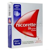 Nicoretteskin 25 mg/16 h Dispositif transdermique B/28 à Saint-Chef