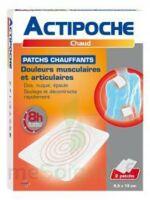 Actipoche Patch chauffant douleurs musculaires B/2 à Saint-Chef