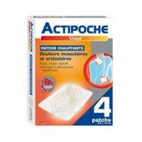 Actipoche Patch Chauffant Douleurs Musculaires B/4 à Saint-Chef
