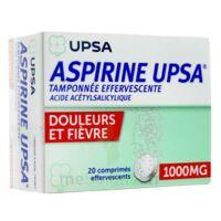 Aspirine Upsa Tamponnee Effervescente 1000 Mg, Comprimé Effervescent à Saint-Chef