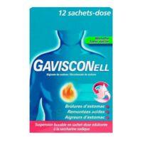 GAVISCONELL Suspension buvable sachet-dose menthe sans sucre 12Sach/10ml à Saint-Chef
