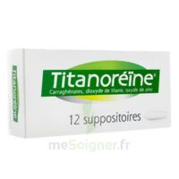 TITANOREINE Suppositoires B/12 à Saint-Chef