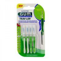 GUM TRAV - LER, 1,1 mm, manche vert , blister 4 à Saint-Chef