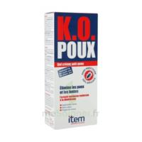 Item K.O. Poux Gel crème anti-poux 100ml+peigne fin à Saint-Chef