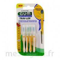 Gum Trav - Ler, 1,3 Mm, Manche Jaune , Blister 4 à Saint-Chef