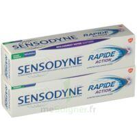 Sensodyne Rapide Pâte dentifrice dents sensibles 2*75ml à Saint-Chef