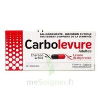 CARBOLEVURE Gélules adulte Plq/30 à Saint-Chef