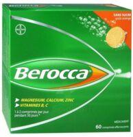 Berocca Comprimés effervescents sans sucre T/60 à Saint-Chef